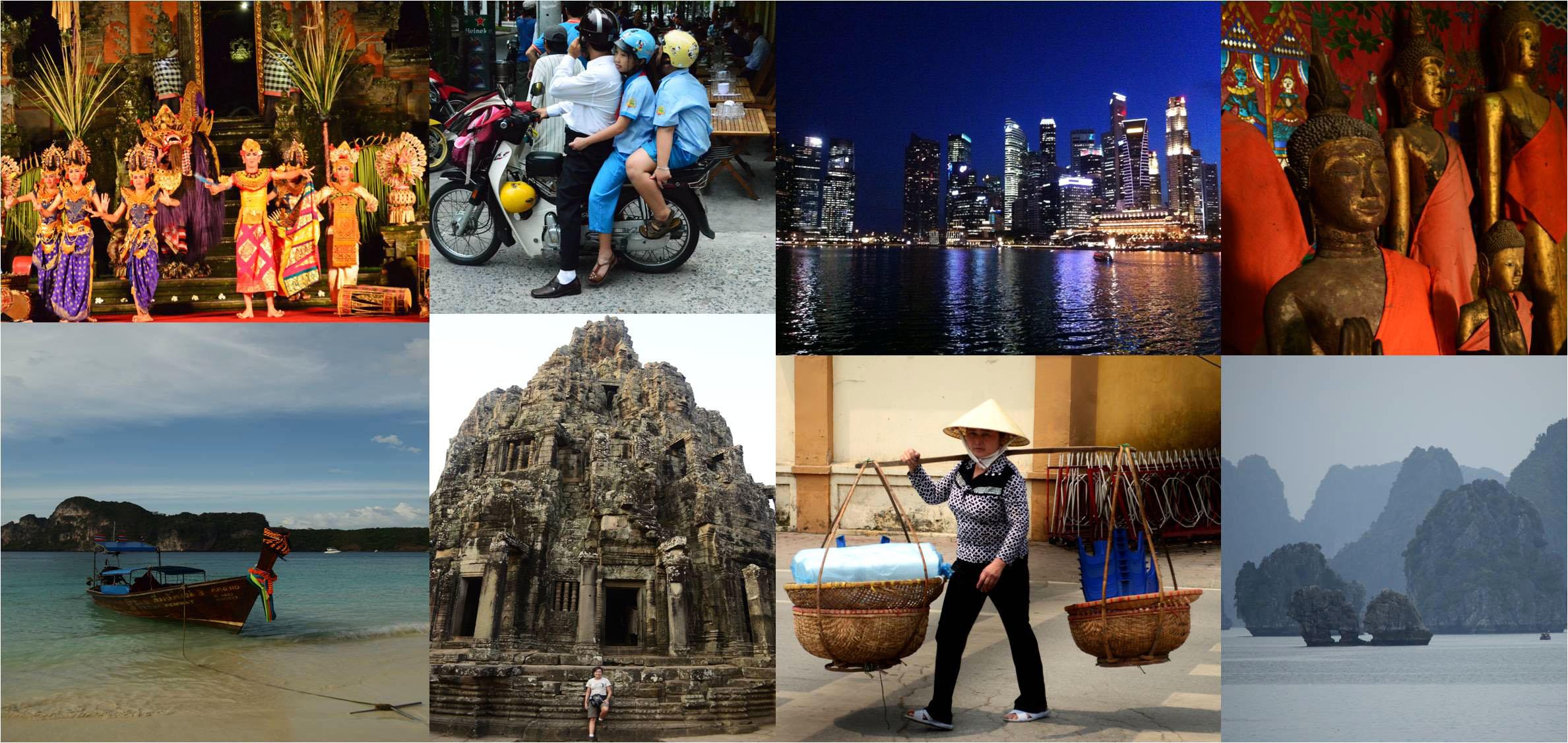 Resultado de imagem para imagens do sudeste asiático